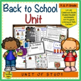Back to School:  Centers & Activities