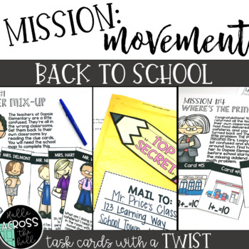 Back to School Centers {Mission Movement: Back to School}