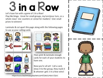 Back to School Centers & Printables