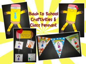 Back to School {Centers, Printables & Craftivities Aligned to CCSS}