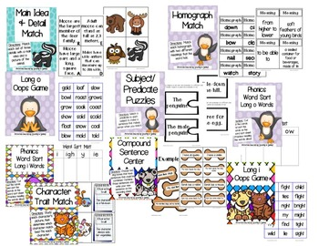 Back to School Centers for 3rd Graders {16 Centers}