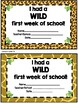 Back to School/First Day Certificates