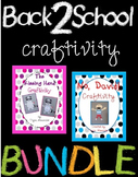 Back to School Character Craftivities