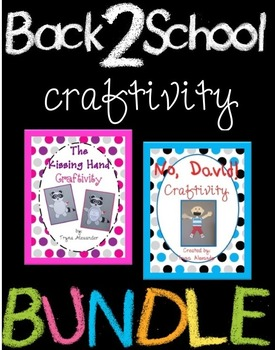 Back to School Character Craftivities
