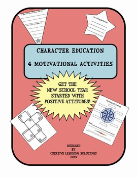 Back-to-School Character Education Activities