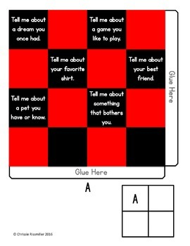 Back to School Checkers Game