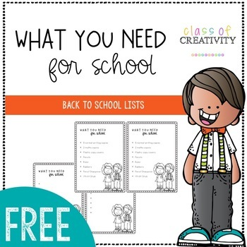 Back to School Checklist for Students