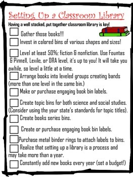 Back to School Checklists (Complete)