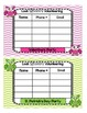 Back to School Chevron and Owl Parent Volunteer Postcards