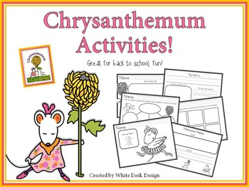 Back to School: Chrysanthemum Picture Book