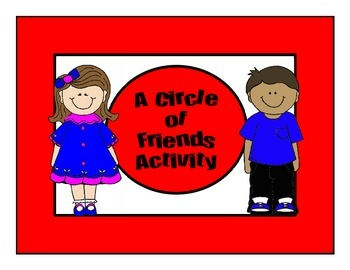 Back to School Circle of Friends Activity