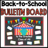 Back-to-School Circus Theme Bulletin Board