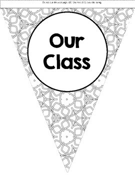 Back to School Class Banner