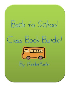 Back to School Class Book Bundle