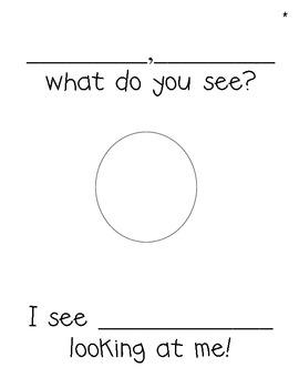 Back to School Class Book: First Graders, First Graders, What Do You See?