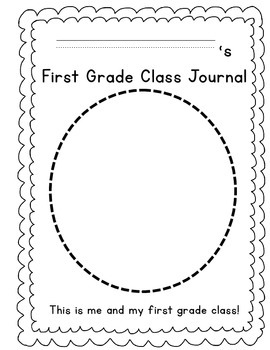 Back-to-School Class Journal