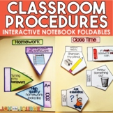 Class Procedures and Routines