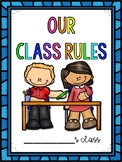 Back to School Class Rules Activities