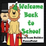 Back to School Class & Team Builder (Circus Theme)