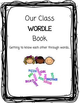 Back-to-School Class WORDLE Book