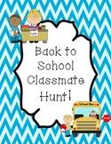 Back to School Classmate Hunt!