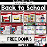Back-to-School Activities BUNDLE