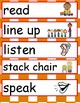 Back to School Classroom Commands for ELL