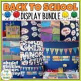 Back to School Classroom Decor Bundle