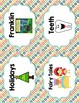 Back to School Classroom Decor ICE CREAM PARTY Book Bin Labels