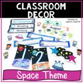 Back to School Classroom Decor Space Theme Classroom Decorations