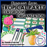 Back to School Classroom Decor TROPICAL PARTY Classroom Or