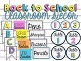 Back to School Classroom Decor