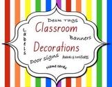 Back to School Classroom Decorations