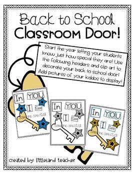 Back to School Classroom Door!