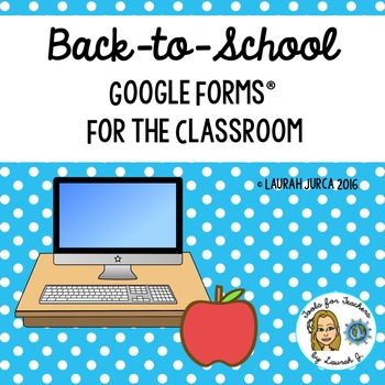Back-to-School Classroom Forms Digital Bundle for Google Drive®