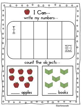 Back to School Activities Kindergarten and 1st grade