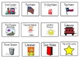 Back to School Classroom Helper Labels