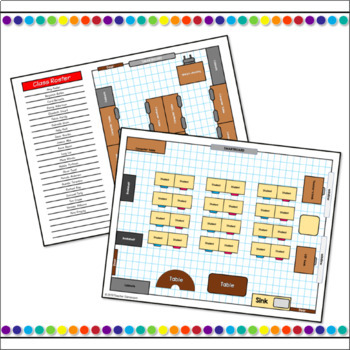 Back to School Classroom Layout