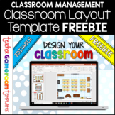 Back to School Classroom Layout Freebie