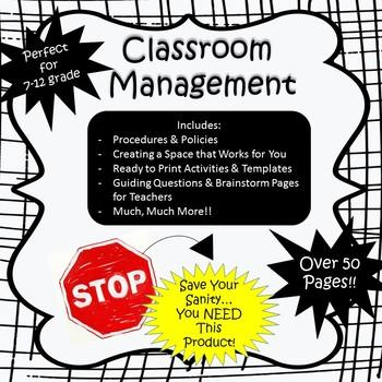 Back to School - Classroom Management Bundle