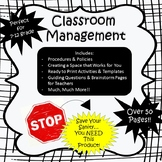 Back to School - Classroom Management Bundle