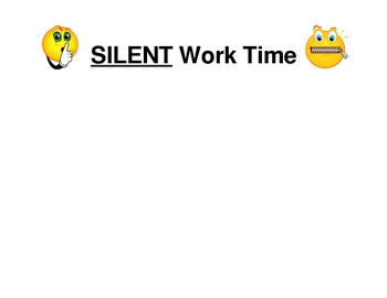 Back to School - Classroom Management - Silent Time or Group Time?