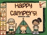 Back to School Classroom Management Happy Campers Behavior Chart