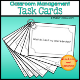 Back to School Classroom Routines and Procedures Task Cards CUSTOMIZABLE