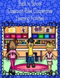 Back to School Classroom Rules Cooperative Learning Activities