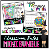 Back to School Classroom Rules & Expectations Mini Bundle