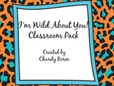 Back to School Classroom Set- Wild/Bright/Animal Prints