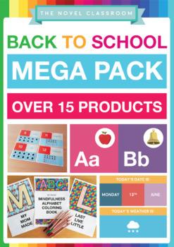 Back to School Classroom Setup Pack