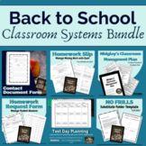 Back to School: Classroom Systems Bundle