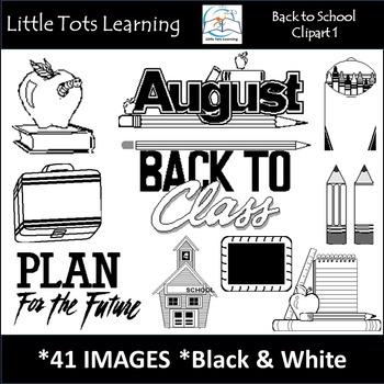 Back-to-School Clip Art 1